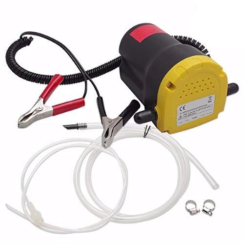 Gekufa Ölabsaugpumpe für Auto, Motorrad, Boot, Wohnwagen, LKW, Diesel, Öl Flüssigkeit, Umfüllpumpe