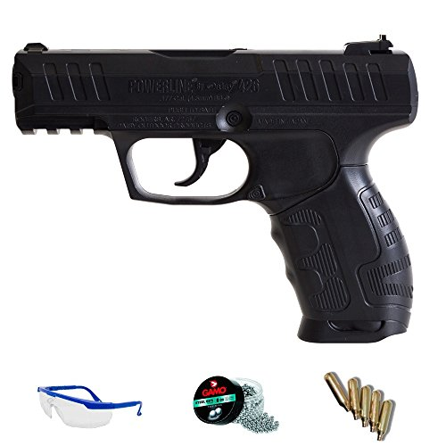DAISY Pack Pistola de Aire comprimido 426 - Arma de CO2 balines BBS (perdigones de Acero) <3,5J