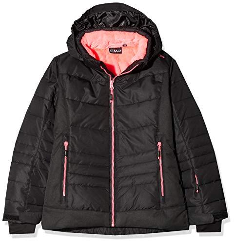 CMP Mädchen Skijacke 39W2045 Jacke, Nero, 140 (L)