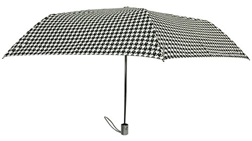 London Fog Holiday Boxed Umbrella,Houndstooth