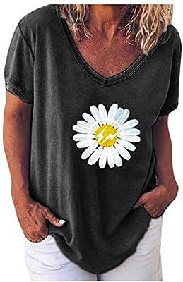 POINWER Kleine Gänseblümchen T-Shirt