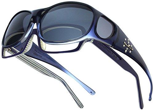 Element JP Fitovers - Sapphire w/Swarovski - Grey Lens (EM005S)