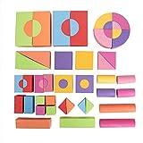 Zerodis 50 Unids Juguetes de Construcción de Ladrillo Suave Educativos Educativos Bloques de Construcción de Espuma de EVA Mini Edu-Blocks Flexible Juguete Inteligente Regalo para Niños