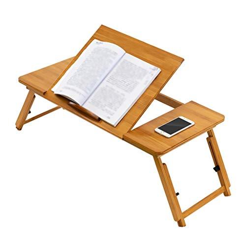 Zhangapn1 Gratis installatie Verstelbare vouwen Laptop Computer Bureau Bed Bureau Home Lezen Stand Slaapkamer Slaapbank Ontbijt lade Beste Gift