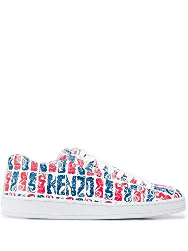 Kenzo Luxury Fashion Herren FA55SN132L7221 Rot Leder Sneakers   Frühling Sommer 20