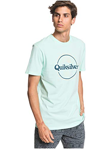 Quiksilver™ Words Remain - T-Shirt - Homme - L - Vert
