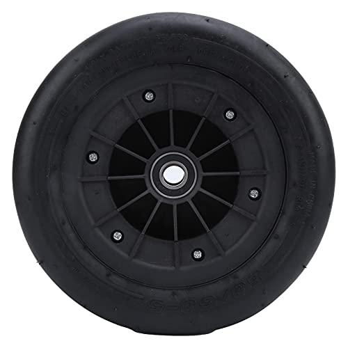 Keenso Neumático sin cámara de Kart, neumático de vacío Rubeer 80/60‑5 Reemplazo de neumático sin cámara para la Rueda Delantera de Ninebot Karting