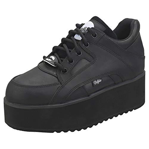 Buffalo London Damen Sneaker Low 1130-6 schwarz40