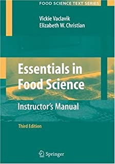 Essentials in Food Science, Instructor's Manual