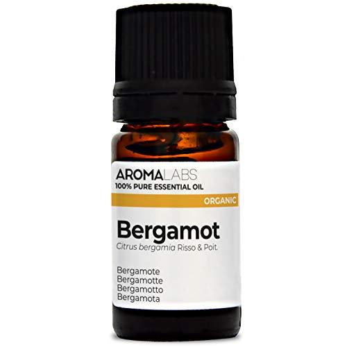Aroma Labs Aceite esencial 100% natural y BIO - Bergamota