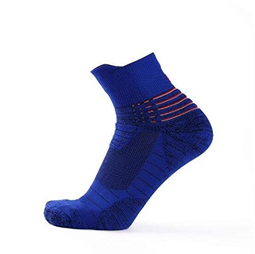 Witou 3 Pares de Alta Baloncesto de los Hombres Calcetines de Moda al Aire Libre Deportes y Transpirable Antideslizante Zapatos Masculinos Calcetines absorción de Impactos, Comodidad y Ocio