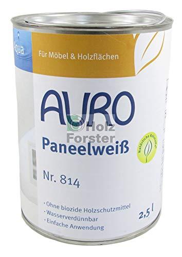 AURO Aqua Paneelweiß Nr. 814, 2,50 Liter