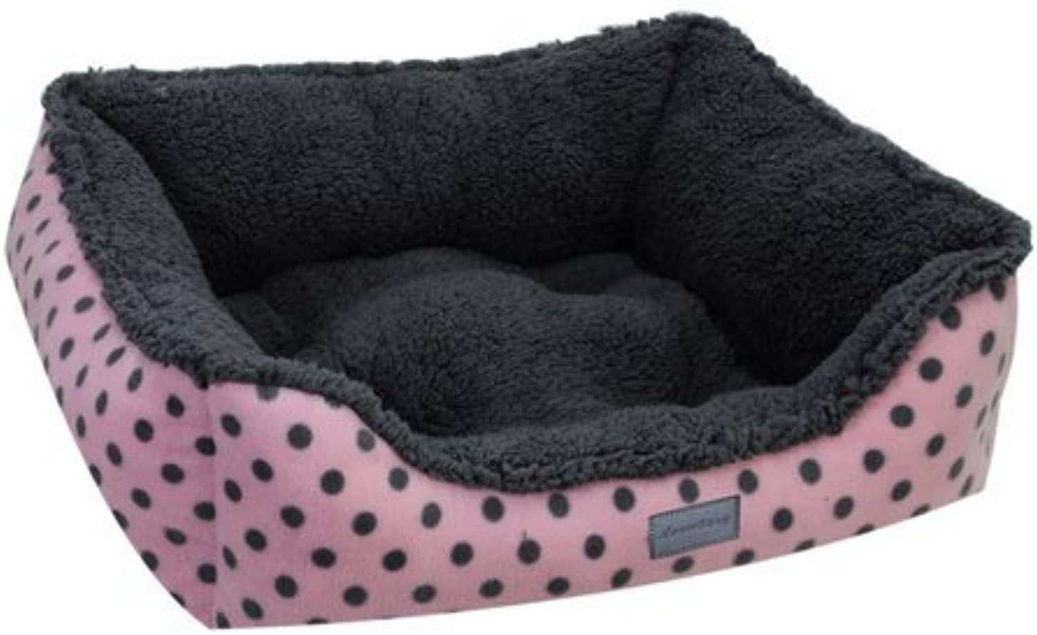 9388d6c46929 EZ Living Home Couch Bed, Large, Pink Dots Polka ouprwe999-New pet ...