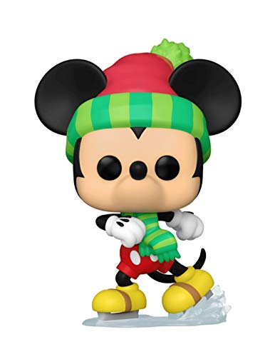 Funko Pop Disney Holiday 997 Mickey Mouse Ice Skating - Amazon Exclusive
