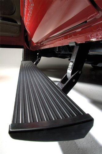 AMP Research 75101-01A PowerStep Electric Running Boards for 2002-2008 Ram 1500 & 2003-2009 Ram 2500/3500 with Quad Cab,Black