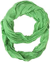 Jgoodin CO-CMF3214-LTGREEN Light Green Genevieve Infinity Scarf