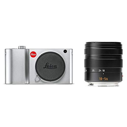 LEICA TL2 Compact Digital Camera with Vario-Elmar 18-56mm Lens, Silver 19158