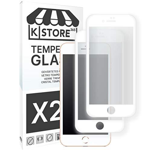 2 Piezas, Cristal Templado Para iPhone 7 Plus / 8 Plus, 9H...