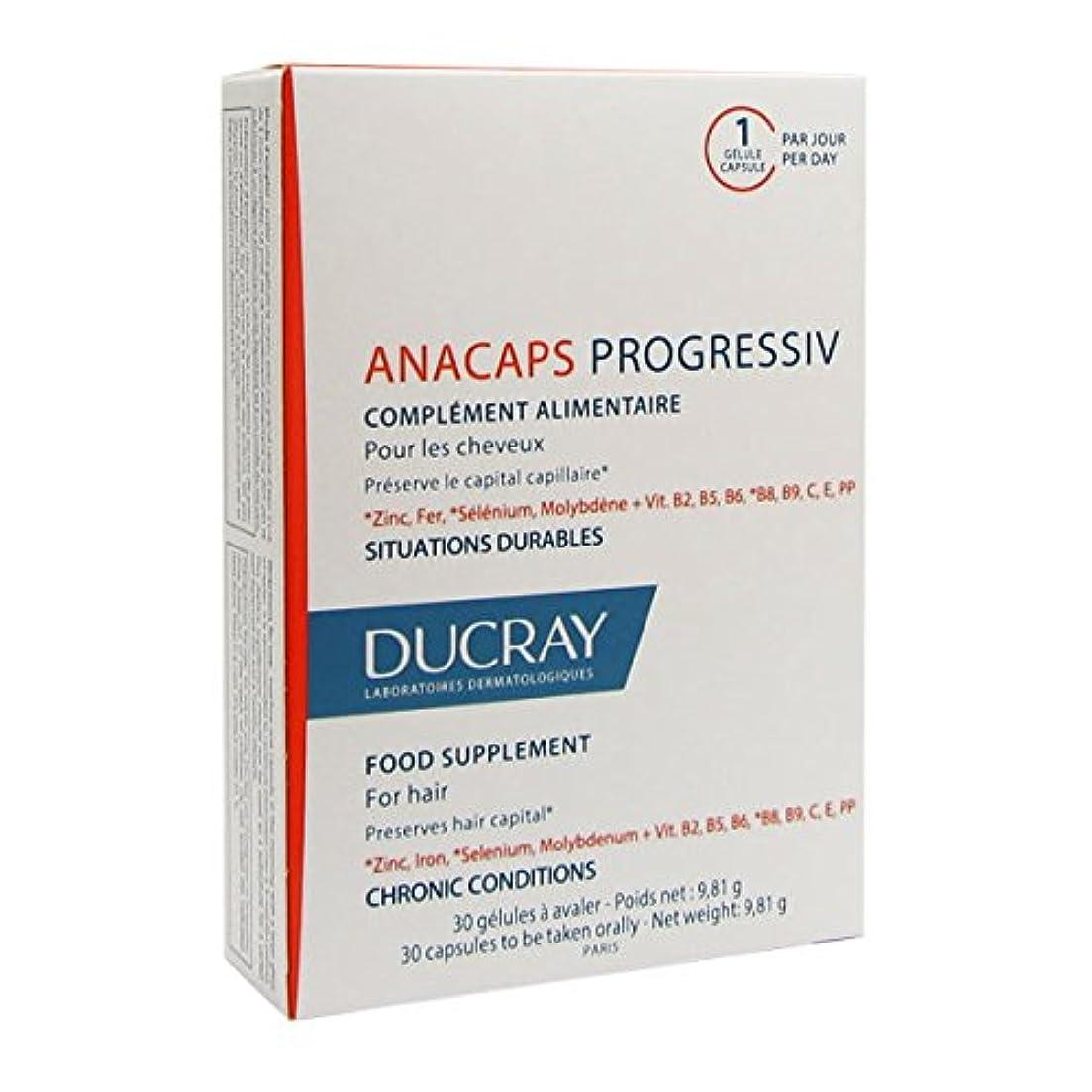 ワードローブ解凍する、雪解け、霜解け落ちたDucray Anacaps Progressiv 30caps [並行輸入品]