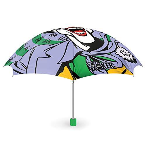 DC Comics GP85381 Unisex Erwachsenenschirm (Der Joker) Mehrfarbig, 25 x 6 cm