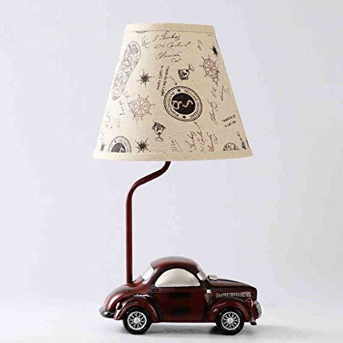 Chenbz Lámparas de Mesa, Personalidad Simple Europea lámpara del Coche de la Manera, lámpara de cabecera del Dormitorio, luz de la Noche de Lectura
