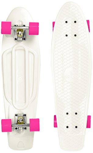 Ridge Skateboard Big Brother Nickel 69 cm Mini Cruiser, Glow/rosa