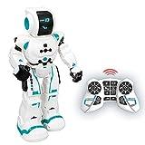 Xtrem Bots - Robbie, Robot Juguete Teledirigido Programable, Robots para Niños 5 Años O Más Educativos, Juguetes Robótica Educativa, Juego Robotica, Stem