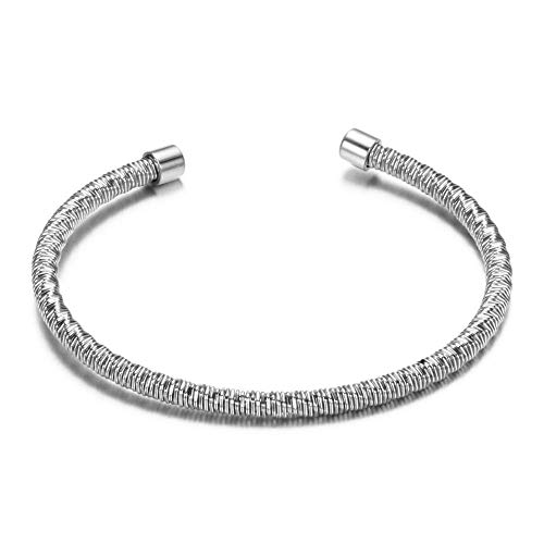Bracelet Nouveau Bracelet Tendance Cadeau en Gros Bijoux Or/Argent/Or Rose/Noir Plaqué Bracelets Ouverts Bracelets pour Femmes Mariage Argent Plaqué