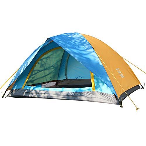 ZXYSR Campingzelt Doppelwandig,1-2 Personen Campingzelt, Duschzelt Toilettenzelt Camping Faltzelt, Für Outdoor Strand Angel Camping Wandern, 200 X 150 X120 cm