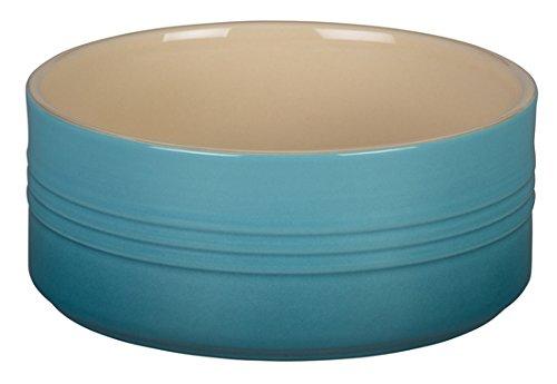Le Creuset Stoneware Souffle Dish, 1-Quart, Caribbean
