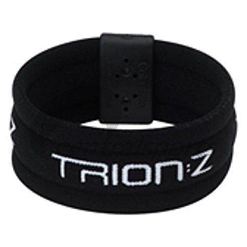 Trion Z Dual Loop Magnetic Wristband Bracelet. Choose Size and Color (Broadband Black, XL)