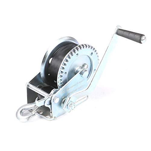 Seilwinde Seilzug Handwinde Gurt Forstseilwinde Handseilzug 600lbs 270 kg 50 mm x 5 m