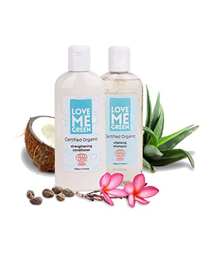 Organic Shampoo & Conditioner Set, ohne Silikone, ohne Parabene, ECOCERT greenlife zertifiziert