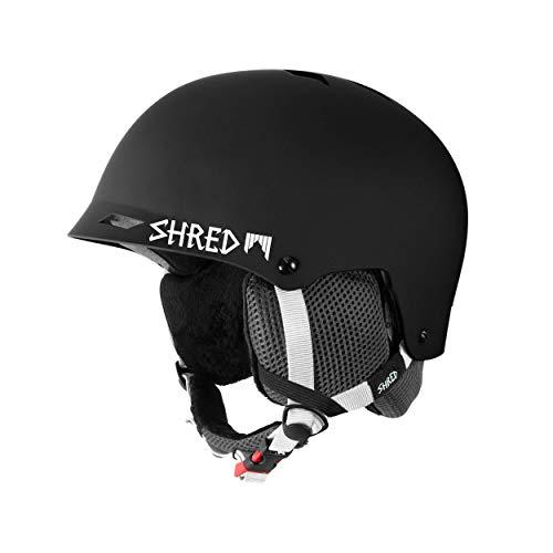 Shred Helm Half Brain Clarity, Black, (M+) L/XL