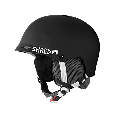 Shred Helm Half Brain Clarity, Black, (M+) L/XL
