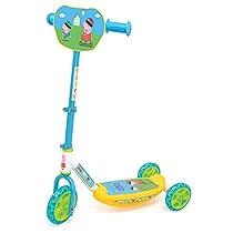 Simba- Peppa Pig Patinete con 3 ruedas