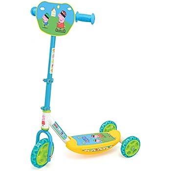 Smoby Kinder Scooter Paw Patrol Roller 3 Räder Kinderroller Dreirad Cityroller