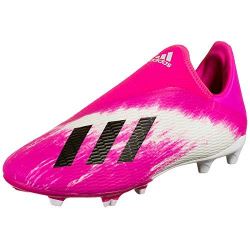 adidas Performance X 19.3 LL FG Fußballschuh Kinder weiß/pink, 11.5 US - 46 EU - 11 UK
