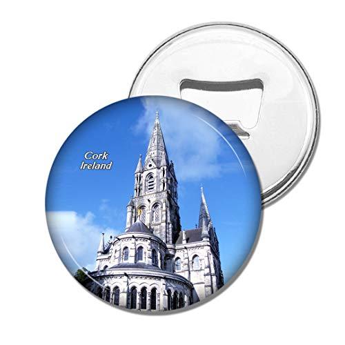 Weekino Kathedrale-Korken Irland-Heiliges Fin Barre Bier Flaschenöffner Kühlschrank Magnet Metall Souvenir Reise Gift