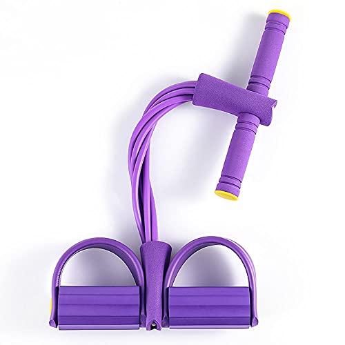Cuerda Pedal,Elasticidad Cuerda Pedal Resistencia ai Ejercicio SiéNtese Banda para El Pie Cuerda EláStica con Agarre Antideslizante Adecuada para Yoga Pilates Fitness Y Otros