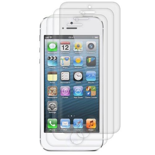 kwmobile 3x Pellicola protettiva compatibile con Apple iPhone 5C - Protezione display opaca antiriflesso anti-impronte - Qualità premium