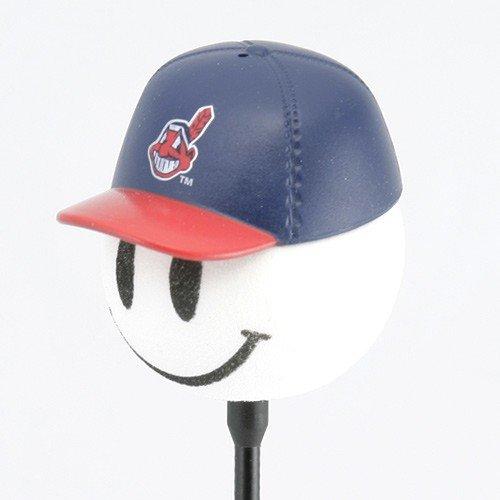 MLB Cleveland Indians Baseball Cap Antenna Topper