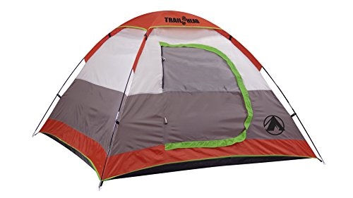 GigaTent Trailhead Dome 3-4 Person Camping Pop-Up Tent – Spacious, Lightweight, Heavy Duty – Weather and Flame Resistant Outdoor Hiking Gear – Fast, Easy Setup – 7'x7′ Floor, 51″ Height