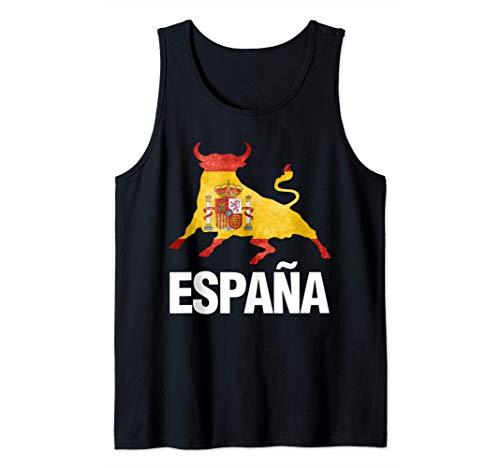 España Bandera Tauromaquia Camiseta sin Mangas