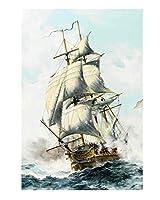 MUMA 大人のための風景ジグソーパズル1000/1500/2000/3000個 帆船、 子供のパズル組み立ておもちゃギフト (Size : 1000 Pieces - 75.5×50.5CM)