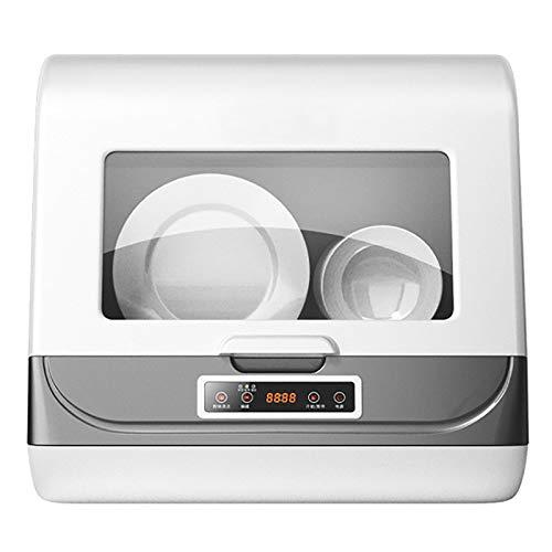 HaushaltsgeschirrspüLer, 1200-W-Mikrocomputersteuerung, Touch-Led, Edelstahl-Geschirrkorb, Hochtemperatursterilisation Ohne Besonderen Geruch