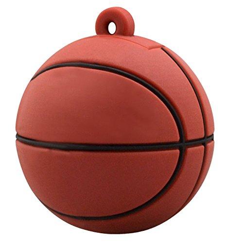 Memoria USB de 8 GB, diseño original de diversión de baloncesto