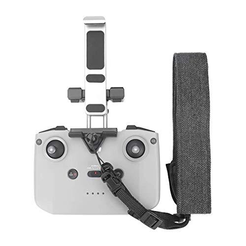 Linghuang - Soporte de aleación de aluminio para tablet DJI Mavic Air 2 / Mavc Mini 2, mando a distancia, soporte para iPad Mini / iPad Air / iPad (con cuerda)