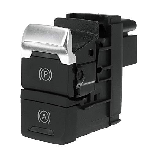 Reunion Botón De Interruptor De Freno De Estacionamiento De Sostener Estacionamiento Electrónico para A4L Q5 2008-2016 (Color : Black)