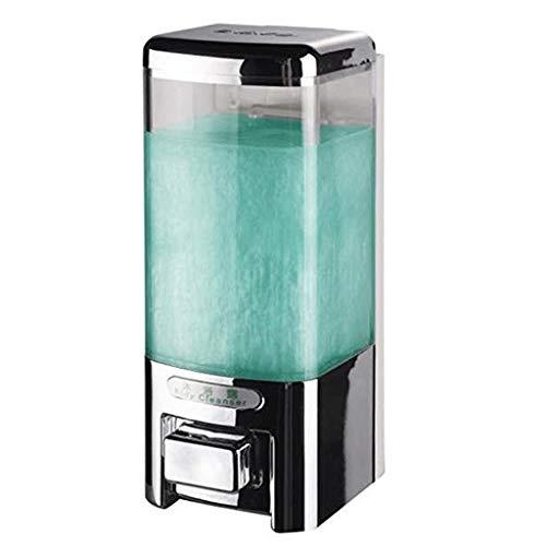 Dispensador manual de jabón dispensador de jabón para baño y hotel, dispensador de jabón de pared, gel de ducha, loción para el hogar, dispensador de jabón y loción (tamaño: 500 ml)